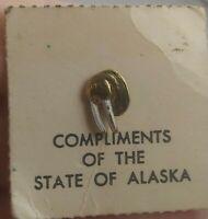 Vintage Alaska Walrus Souvenir 1960's pin button pinback *EE96