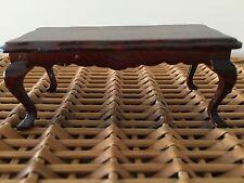 Vintage Doll House Furniture Mahagony Coffee Table