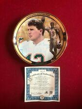 "2000, Dan Marino, ""Bradford"" (8"") Collectors Plate - Scarce / Vintage (Dolphins)"