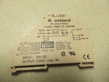 WIELAND 81.020.4100.0 RELAY COUPLER FLARE-TIMER-S-250V6A  FREE SHIP