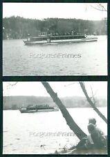 2x Foto Schiff MS Kriebstein P 108 Mittweida