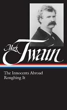The Innocents Abroad & Roughing It by Mark Twain  Library of America in Slipcase
