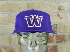 Washington Huskies embroidered Snapback hat- College NCCA GO DAWGS!!