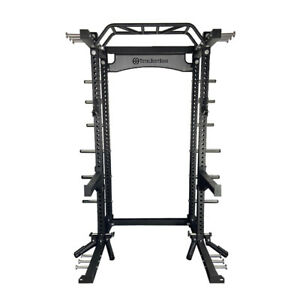 Total Body Base Power Rack Commercial Half Squat Cage Machine 75mm Heavy Duty