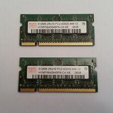"""IBM ThinkPad t43 14.1"""" 1gb RAM Kit (2x512mb) 73p3843"""