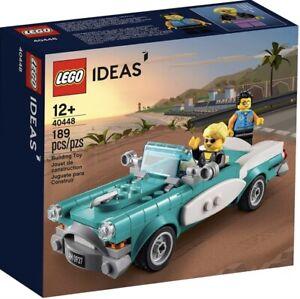 LEGO 40448 IDEAS VINTAGE CAR 189pcs NEW SEALED INCLUDES 2 EXCLUSIVE MINIFIGURES