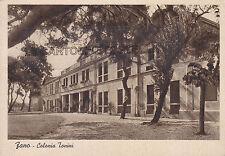 CARTOLINA MARCHE PESARO- FANO COLONIA TONINI