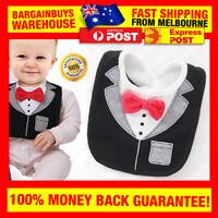 Mr Snazzy Funny Cute Baby Bow Tie Bib Baby Boy Drool Bib Dodou Yem