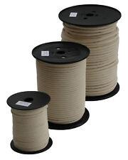 Baumwollseil (ab 0,80€/m) geflochten rund Ø 3mm-12mm, Schnur, Band, Kordel, Seil