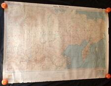 Carte générale ASIE NORD EST d'après la carte générale bathymétrique 1946