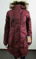 NWT Womens The North Face TNF Downtown Parka Warm Down Winter Jacket - Red