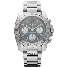 Tudor 20300 Sport Chronograph Grey Dial Stainless Steel Automatic Men's Watch