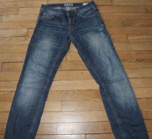 COLIN'S Jeans pour Homme  W 27 - L 32 Taille Fr 36 (Réf # E400)