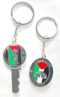2 Key Chain Ring Metal Flag Palestine Palestinian Jerusalem Aqsa Al Aqsa Handala