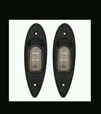 MARPAC BOW NAVIGATION LED SS BLACK POWDERCOAT SHARK EYE LIGHT 7-6596