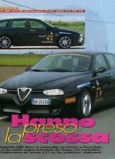 Z13 Ritaglio Clipping 2001 Preparate Momo le Alfa Romeo 2.4 JTD-Lancia Lybra SW
