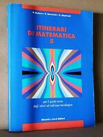 Itinerari di matematica 5