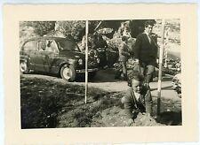 FM805_FIAT 600 Fotografia d'epoca, Famiglia in gita
