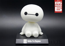 New BIG HERO 6 BAYMAX Collections Action Figures Dolls Bobblehead Toys FR