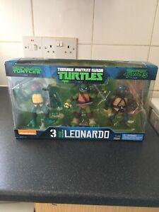 teenage mutant ninja turtles Nickelodeon Leonardo 3pk Exclusive