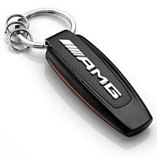 Genuine MERCEDES AMG Keyring Keychain Black/Silver/Red B66953338