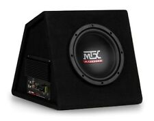 "AMPLIFIED MTX 8"" RTP8A 120 Watts RMS Vented Subwoofer Box w Remote Bass Control"