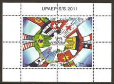 Aruba 2011 100 Year UPAEP flags S/S MNH