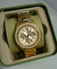 NEW Fossil ES3590 Watch STELLA Blush Rose Gold Watch 38mm Stainless Jewelry CUTE