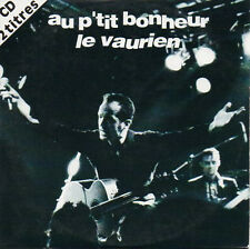 CD Single Au p'tit bonheur	Le vaurien 2-Track CARD SLEEVE + RARE
