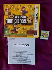 Super Mario Bros 2. Nintendo 3DS, 2DS. Manuals Included.