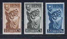 IFNI (1952) MNH EDIFIL 79/81 NUEVO SIN FIJASELLOS SPAIN -  PRO INFANCIA