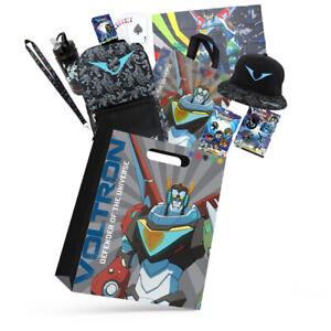 Voltron Kids Showbag w/Cap/Backpack/Bottle/Flag/Lanyard/Tote Bag/Playing Cards