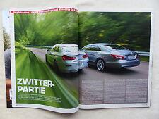 BMW 640i vs Mercedes CLS 350 - Vergleich - Auto Motor Sport Heft 17/2012