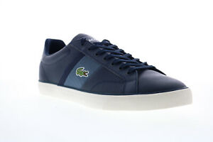 Lacoste Fairlead 319 1 Cma 7-38CMA0064ND1 Mens Blue Lifestyle Sneakers Shoes 10