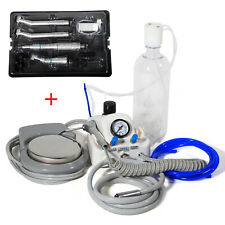 USA Dental Portable Turbine Unit + NSK Style High/Low Speed Handpiece Kit 4 H X