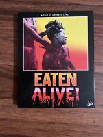 Eaten Alive (Blu-ray Disc, 2018, 2-Disc Set) Umberto Lenzi Severin W/ Slipcover