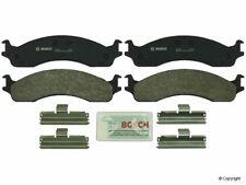 Bosch QuietCast Disc Brake Pad fits 1995-2005 Ford E-250 Econoline E-350 Econoli