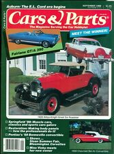 1988 Cars & Parts Magazine: 1928 Willys-Knight Great Six Roadster/1956 Bel Air