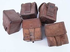 Romanian Vz24 Mauser and Mosin Nagant Leather Ammo Pouch