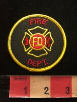 Generic FD FIRE DEPARTMENT Fire Patch 85J