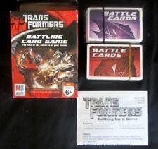 TRANSFORMERS--BATTLING CARD GAME--MILTON BRADLEY--VINTAGE NEW