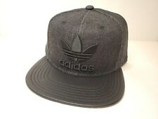 Adidas Men's Grey Adjustable Snapback Cap Hat - Free Shipping