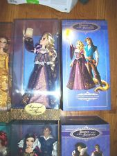 DISNEY FAIRYTALE DESIGNER RAPUNZEL & FLYNN Dolls Limited Edtion