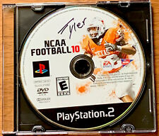 NCAA Football 10 (PlayStation 2 PS2, Disc only - tested