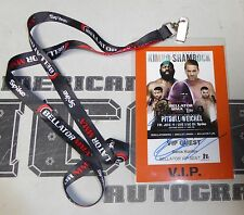 Fedor Emelianenko Signed Personal Friend Bellator 138 VIP Ticket Pass PSA/DNA