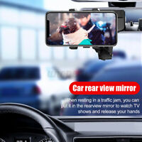 Upgrade 360° Car Mobile Phone Holder Air Vent on Dashboard/ Solar Visor /Panel