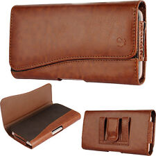 For Samsung Galaxy S7 S6 S5~Deluxe BWN Sleeve Leather Pouch Wallet Cas