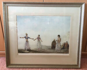 Rare Sir William Russell Flint Artists Proof ' Castanets' Signed In Pencil c1961