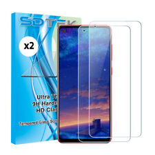 2x SDTEK Tempered Glass Screen Protector for Samsung Galaxy A21s
