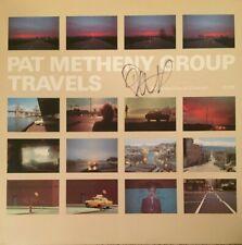 PAT METHENY Signed Autographed TRAVELS Vinyl Record Album LP w/COA JAZZ